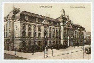Hauptpost Karlsruhe